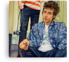 Bob - Highway 61 Canvas Print