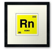 Radon Framed Print