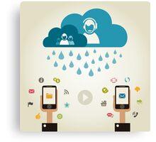 Telecommunication5 Canvas Print
