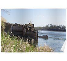 Retired Ferry Landing Poster