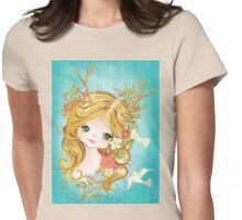 Lovely Lady Of The Woodlands Womens Fitted T-Shirt