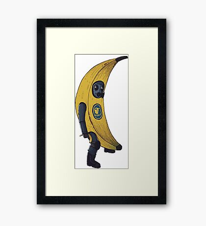 Counter terrorist Banana  Framed Print