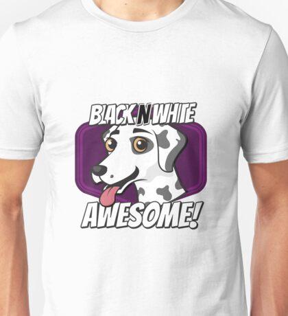 Dalmatian Black White Awesome Unisex T-Shirt