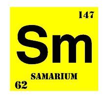 Samarium Photographic Print