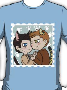 Kitty!Destiel T-Shirt