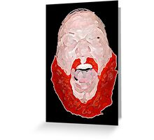 Action Bronson- Beard. Greeting Card