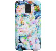 NEAL CASSADY watercolor portrait Samsung Galaxy Case/Skin