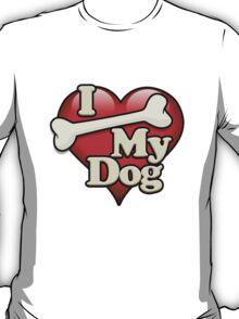 I Bone My Dog T-Shirt