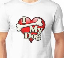 I Bone My Dog Unisex T-Shirt