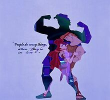 Hercules ~ People Do Crazy Things When They're In Love by EvaEnchanted