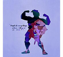 Hercules ~ People Do Crazy Things When They're In Love Photographic Print