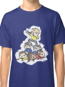 An entire space crew! Classic T-Shirt