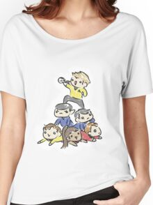 An entire space crew! Women's Relaxed Fit T-Shirt