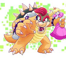 Gettin real tired of this sh*t, Bowser by Toonfused