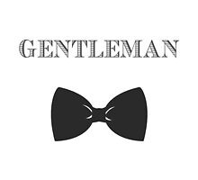 Gentleman Pillow by Courtney Ortegon
