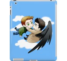 The angel who fell in love iPad Case/Skin