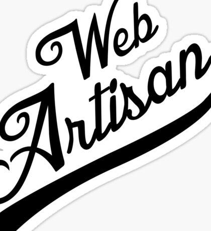 web artisan black edition Sticker