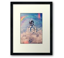 Between the Clouds Framed Print