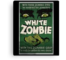 White Zombie Vintage Movie Poster  Canvas Print