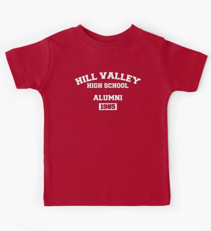 Back to the Future - Hill Valley High School Alumni Kids Tee