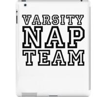 Varsity Nap Team iPad Case/Skin