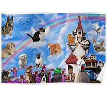 .¸¸.•´¯` RAINBOW BRIDGE OF FOREVER REMEMBERED´ .¸¸.•´¯`  Poster