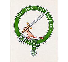 Clan Gunn Scottish Crest Photographic Print