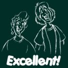Bill and Ted - Group 04 - Excellent - White Line Art by DGArt