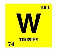 Tungsten Photographic Print
