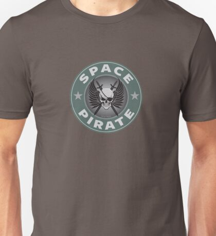 Space Pirate Seal Unisex T-Shirt