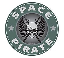 Space Pirate Seal Photographic Print