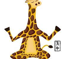 Giraffe Zenimal by Allyson Hicks