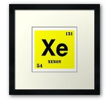 Xenon Framed Print