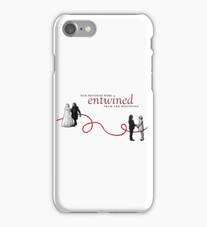 Red String of Fate. iPhone Case/Skin