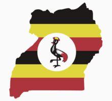 Flag of Uganda by sweetsixty