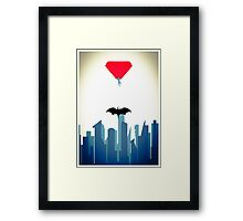 Dawn of Justice Framed Print