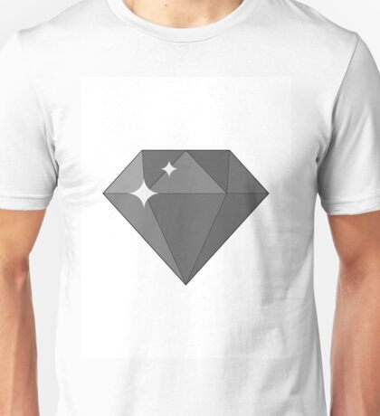 Diamond, gem icon.  Unisex T-Shirt