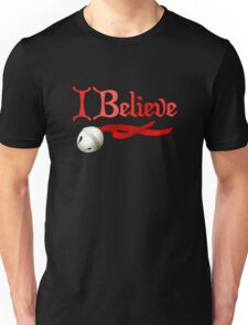 I Believe Jingle Bell Christmas Unisex T-Shirt
