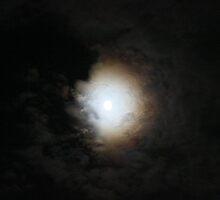 Moon October 7, 2014 by virginian