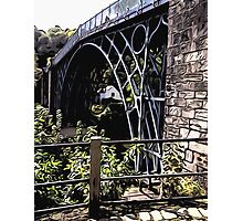 IRONBRIDGE ENGLAND (D) Photographic Print
