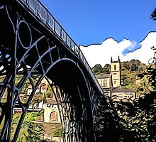 IRONBRIDGE ENGLAND (E) by TONYARTIST