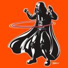 Darth Vader loves to Hula Hoop by RichWilkie