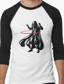 Darth Vader loves to Hula Hoop Men's Baseball ¾ T-Shirt