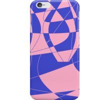 Pink and blue phone case iPhone Case/Skin