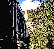 IRONBRIDGE ENGLAND (G) by TONYARTIST