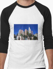 Las Vegas Strip Men's Baseball ¾ T-Shirt
