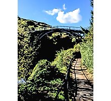 IRONBRIDGE ENGLAND (L) Photographic Print