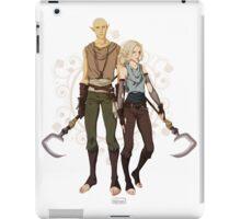 Elf Mages iPad Case/Skin
