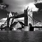 Tower Bridge Open  by John Gaffen