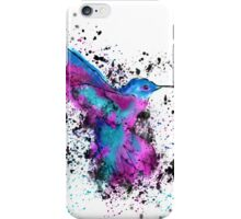 Splash of a Hummingbird iPhone Case/Skin